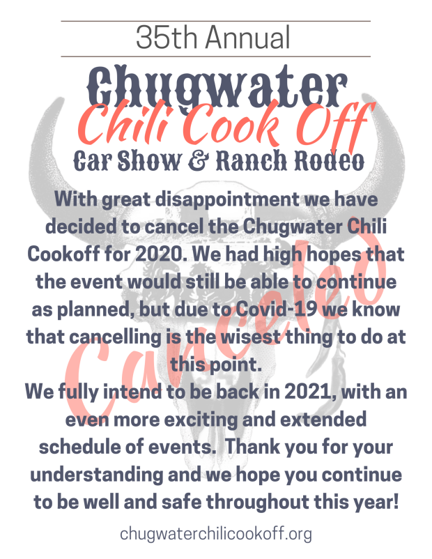 2020 cancellation release